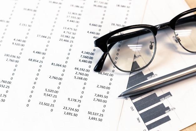 Analyse der finanzbuchhaltung