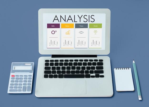 Analyse der leistungsbewertung des trainings