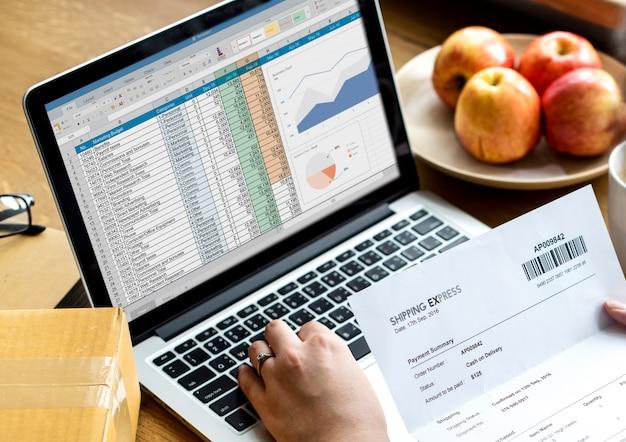 Analysestrategiestudie information geschäftsplanung