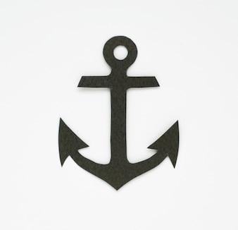 Anchor marine Symbol Grafiksymbol