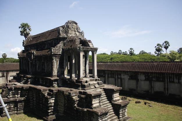 Anckor-paläste, siem reap, camboda. schönes paradies