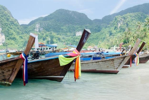 Andamanensee und boot