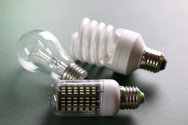 Andere lampe auf grün