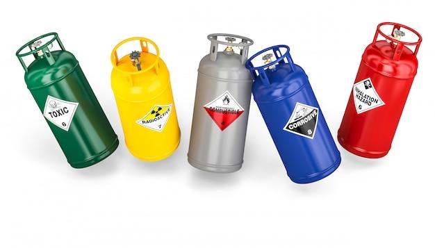 Anderer gefährlicher flaschenbehälter