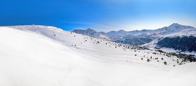 Andorra grandvalira in der nähe von pas de la casa