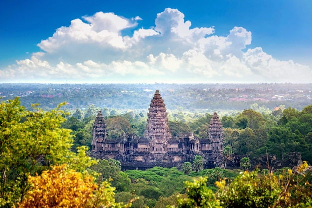 Angkor wat tempel, siem ernten in kambodscha.