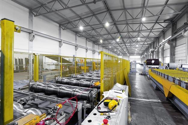 Anlage zur herstellung von stahl, aluminium und metallguss.