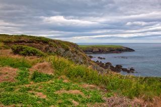 Annestown landschaft hdr-bild