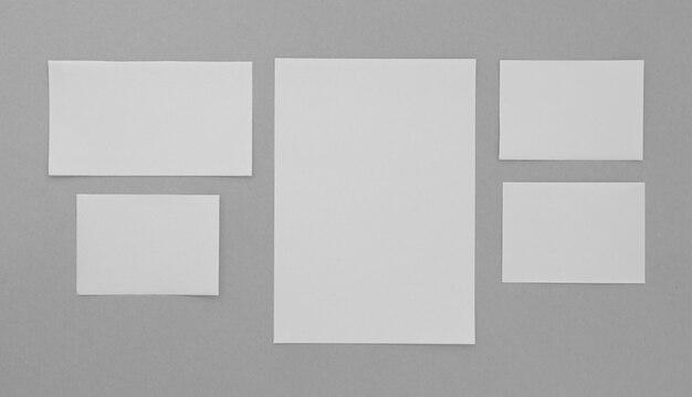 Anordnung der schreibwaren