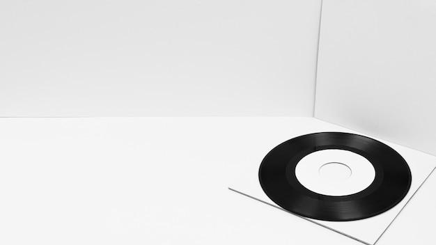Anordnung der vinylverpackung mit kopierraum