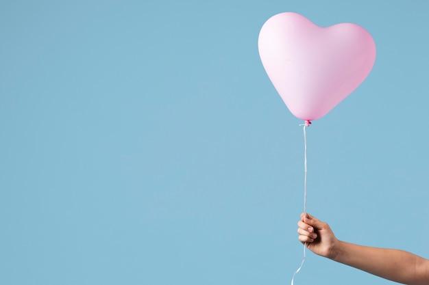 Anordnung von verschiedenen festlichen ballons
