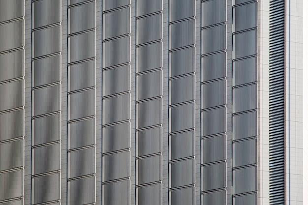 Ansicht am modernen gebäude in tokyo