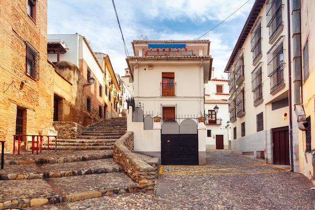 Ansicht der altstadt, granada, andalusien, spanien
