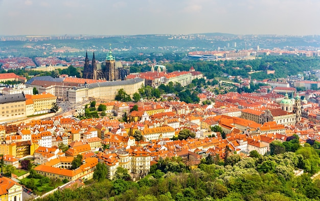 Ansicht der burg prazsky hrad