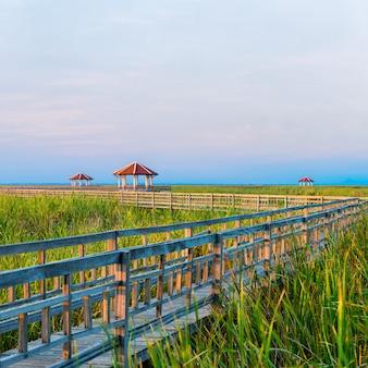 Ansicht der pavillons vom nationalpark sam roi yod