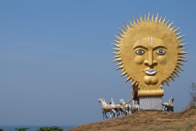 Ansicht des denkmals in murdeshwar karnataka india