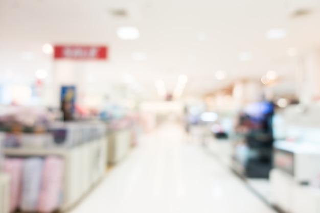 Ansicht des leeren einkaufszentrum