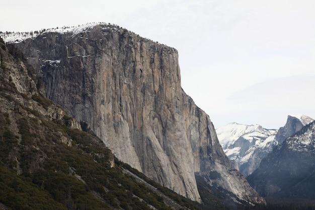 Ansicht des yosemite nationalparks in den usa