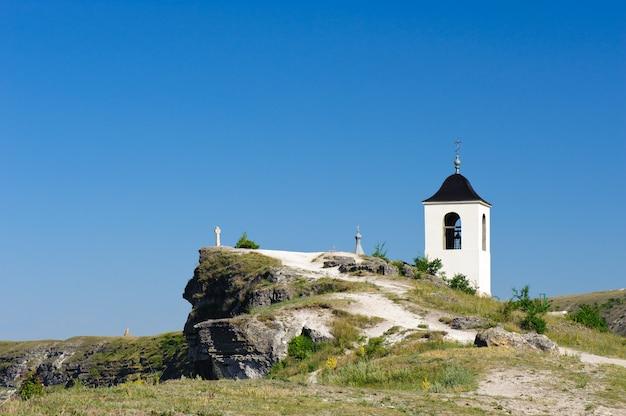 Ansicht von altem orhei, moldau