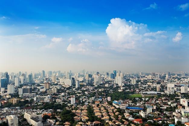 Ansicht von bangkok-stadt, thailand