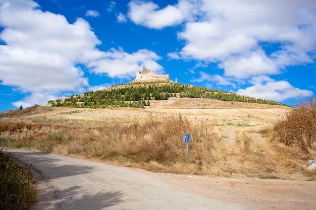 Ansicht von castrojeriz, spanien