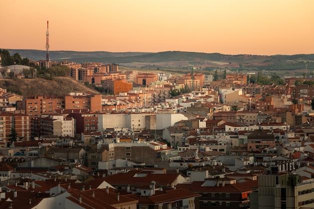 Ansicht von cuenca-hauptstadt in der region kastilien-la mancha in spanien.