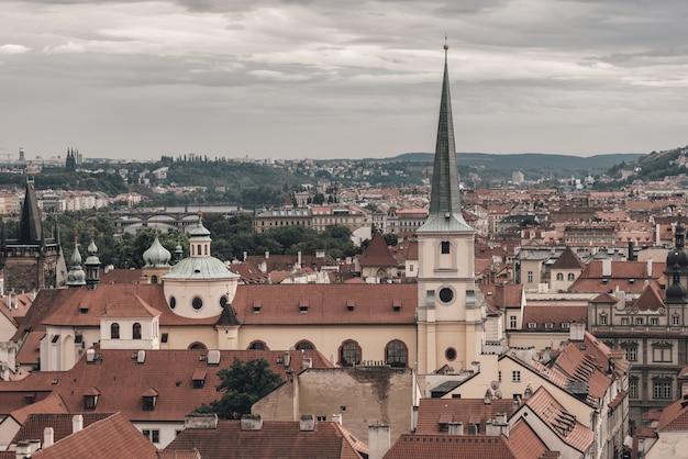 Ansicht von historischem prag-stadtbild. tschechien