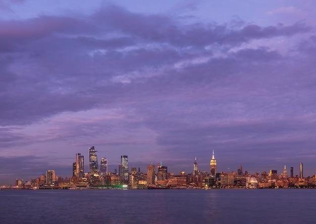 Ansicht von manhattan new york city usa