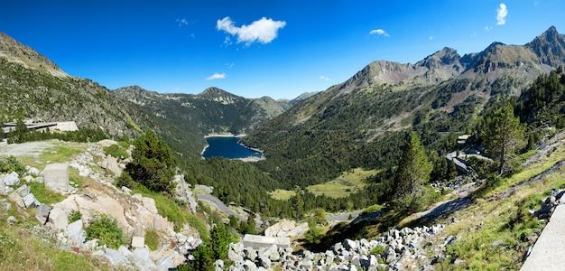 Ansicht von oredon see in hautes pyrenees, frankreich