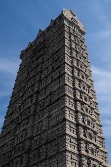 Ansicht von raja gopura murdeshwar karnataka indien