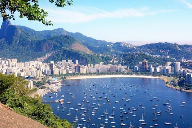 Ansicht von rio de janeiro, brasilien.