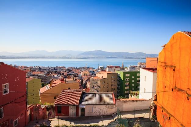 Ansicht von santander, spanien