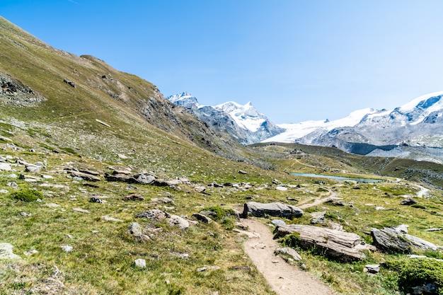 Ansichten des matterhorns in zermatt, schweiz.