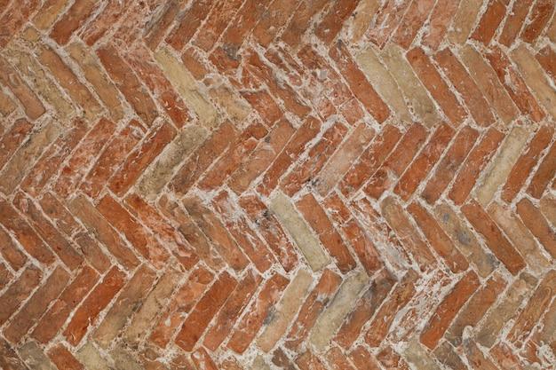 Antike backsteinmauerbeschaffenheit