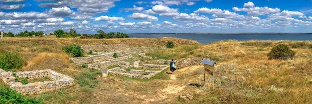 Antike griechische kolonie olbia in der ukraine