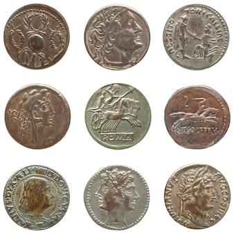 Antike römische und griechische münzen