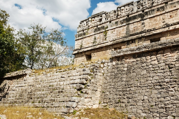 Antike ruinen in chichen itza