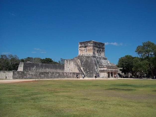 Antike ruinen von maya, chichen itza, yucatan, mexiko