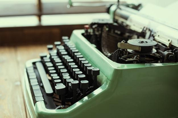 Antike schreibmaschine, vintage schreibmaschine