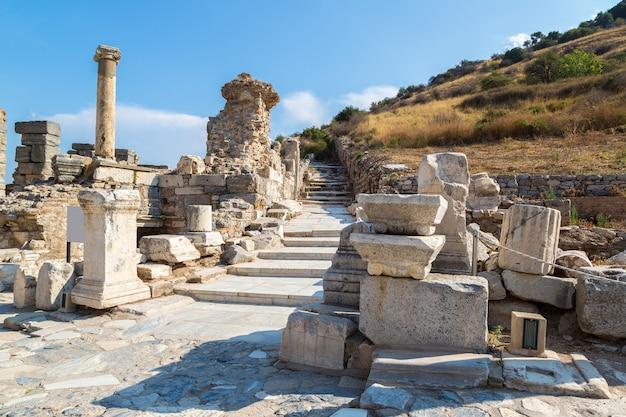 Antike stadt ephesus, türkei