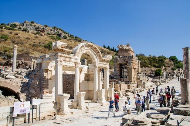 Antike stadtruinen