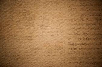 Antikes braunes strukturiertes Papier