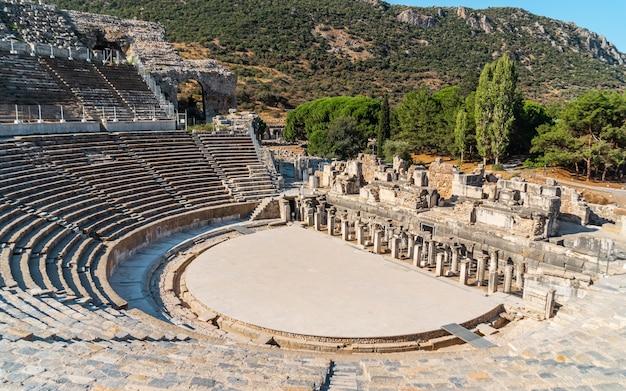 Antikes theater von ephesus