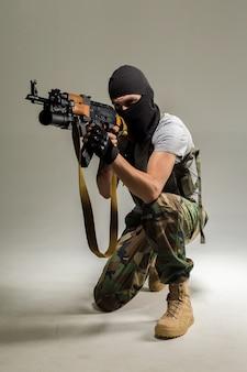 Antiterroristischer mann