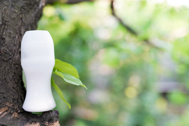 Antitranspirant, frische bio-hautpflege