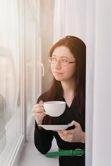 Anwalt beim kaffee