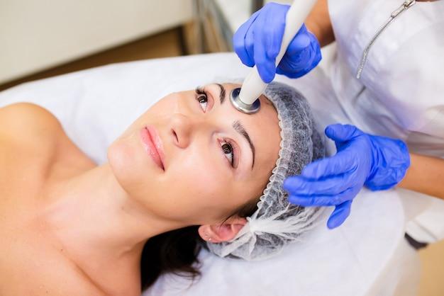 Anwendung der hardware-kosmetologie