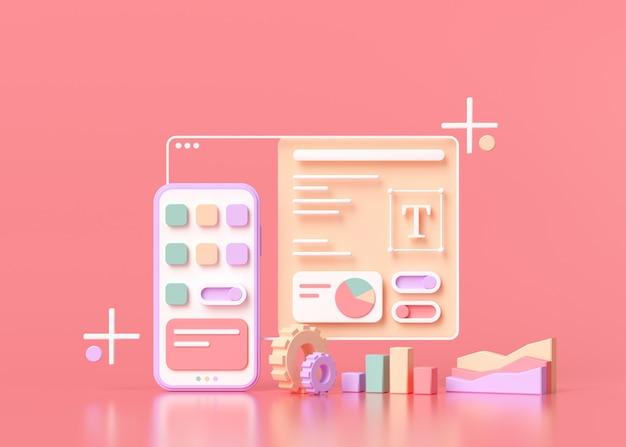 Anwendungsentwicklung und ui-ux-design
