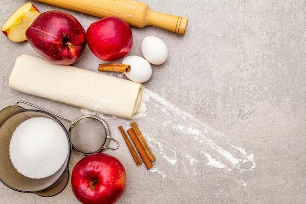 Apfelkuchen zutaten
