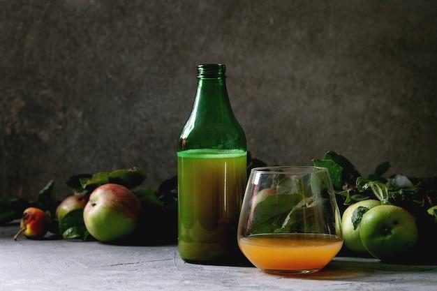 Apfelwein trinken